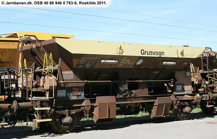 DSB tjenestevogn 30 86 946 0763 - 8