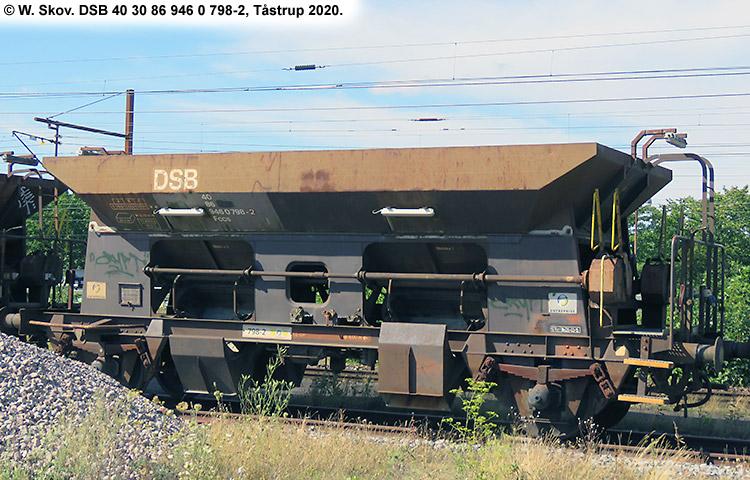 DSB Tjenestevogn 30 86 946 0798 - 4
