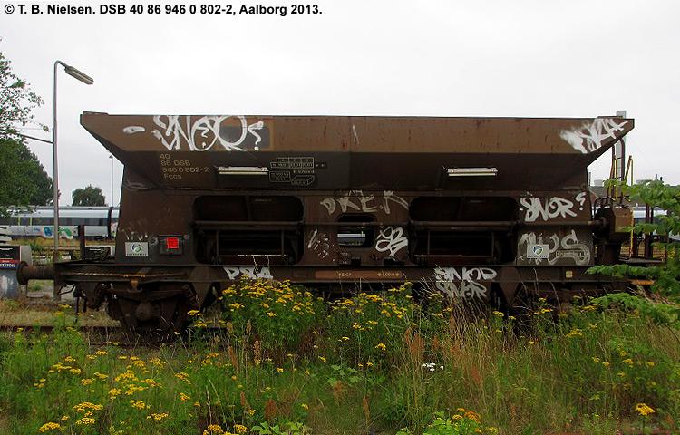 DSB tjenestevogn 30 86 946 0802 - 4