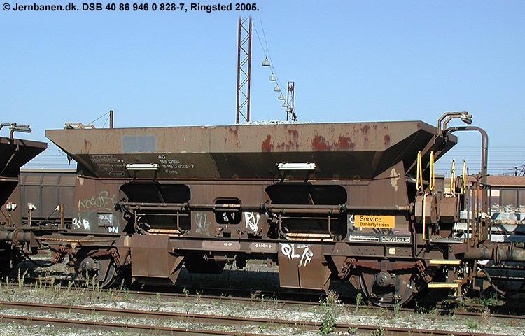 DSB tjenestevogn 30 86 946 0828-9