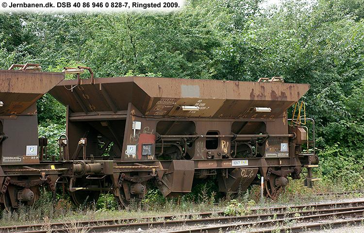 DSB tjenestevogn 30 86 946 0828 - 9