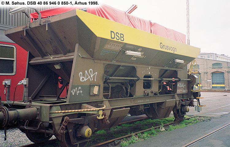 DSB tjenestevogn 30 86 946 0850-3