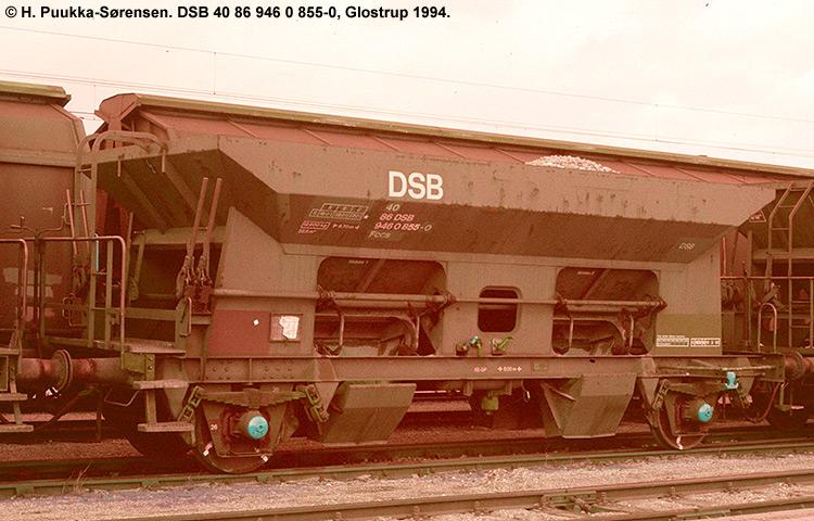 DSB Tjenestevogn 30 86 946 0855 - 2