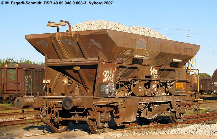DSB tjenestevogn 30 86 946 0868 - 5