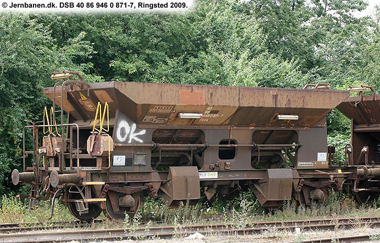 DSB tjenestevogn 30 86 946 0871-9