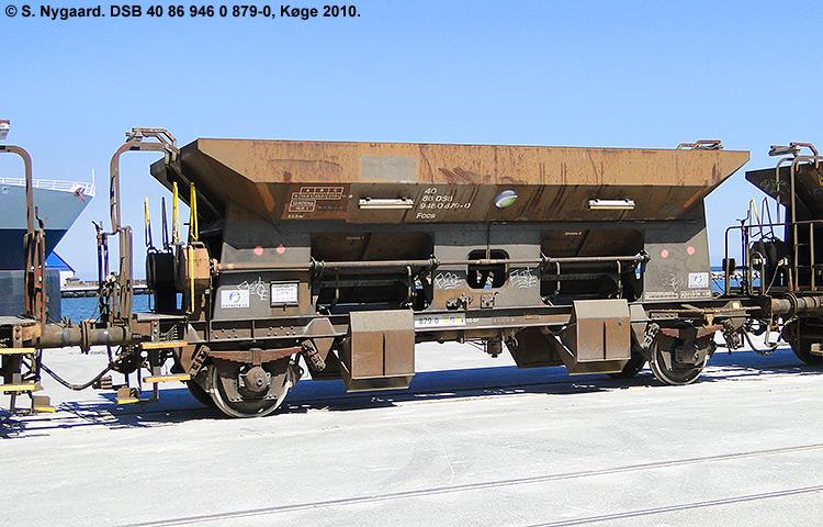 DSB tjenestevogn 30 86 946 0879 - 2