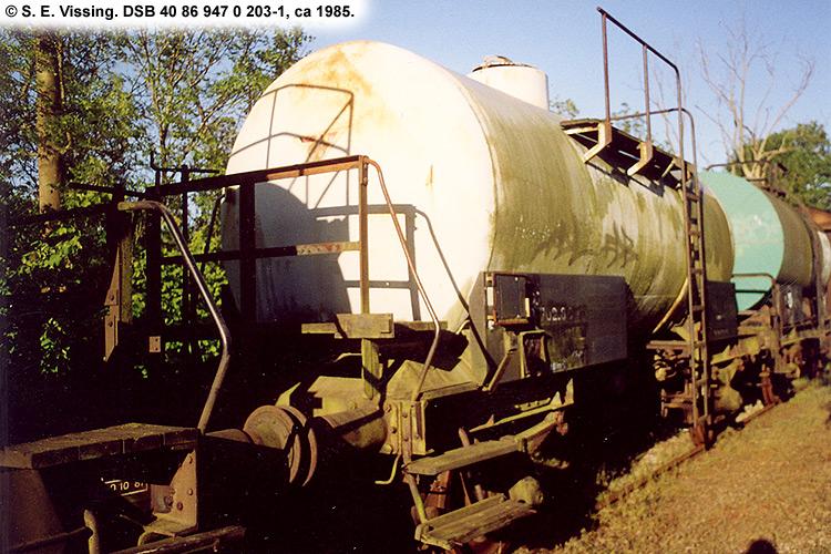 DSB tjenestevogn 40 86 947 0203 - 1