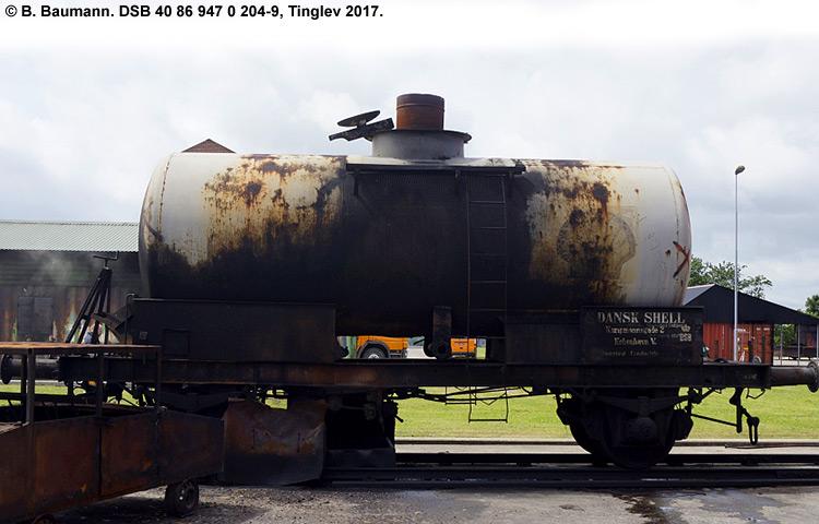 DSB tjenestevogn 40 86 947 0204-9