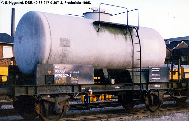DSB tjenestevogn 40 86 947 0207 - 2