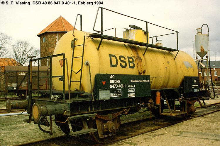 DSB Tjenestevogn 40 86 947 0401 - 1