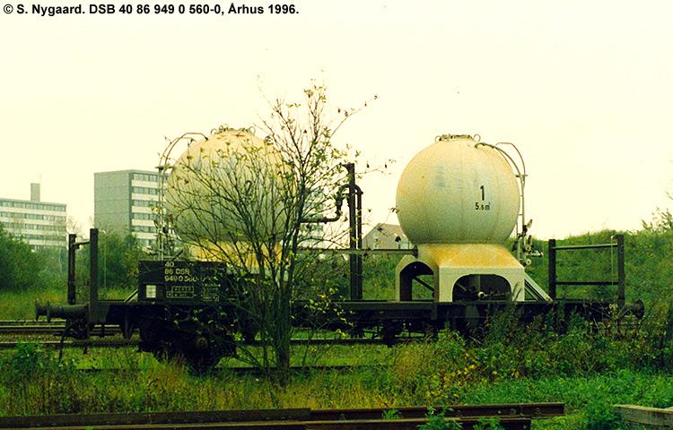 DSB tjenestevogn 40 86 949 0560-0