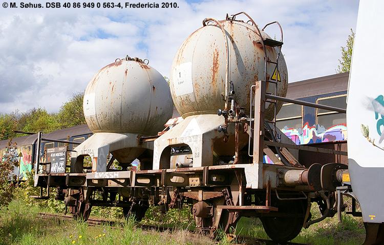 DSB tjenestevogn 40 86 949 0563 - 4