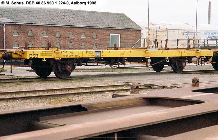 DSB tjenestevogn 40 86 950 1224 - 0