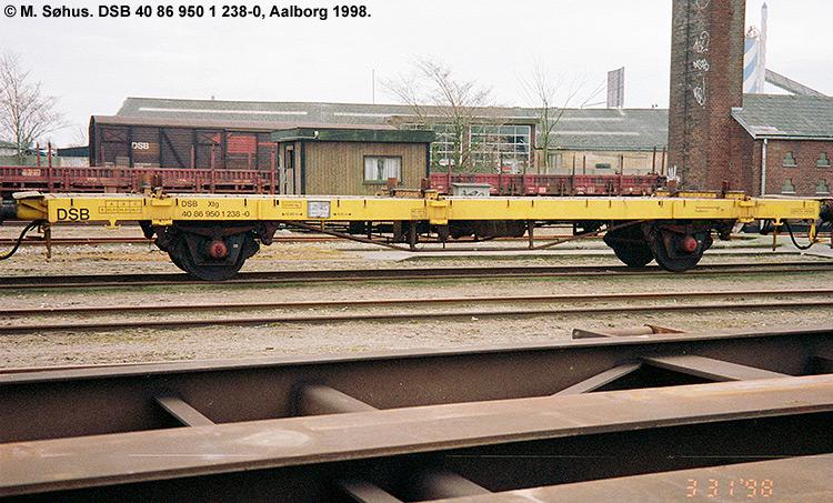 DSB tjenestevogn 40 86 950 1238 - 0