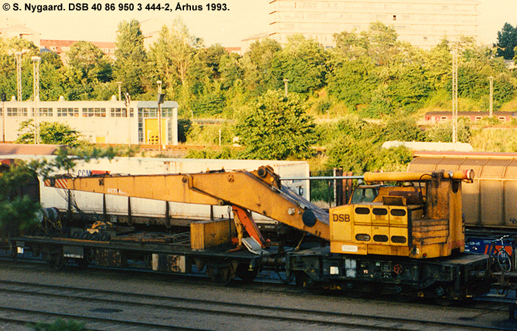 DSB tjenestevogn 40 86 950 3444-2