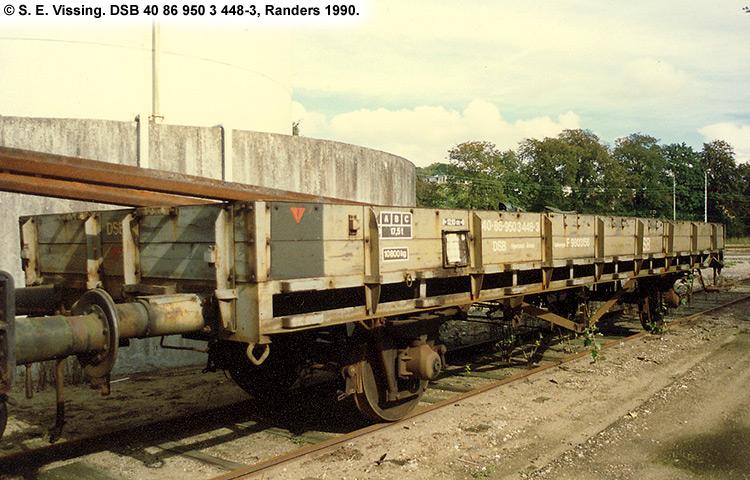 DSB tjenestevogn 40 86 950 3448-3