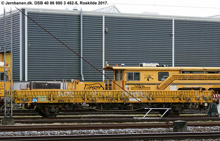DSB tjenestevogn 40 86 950 3452-5