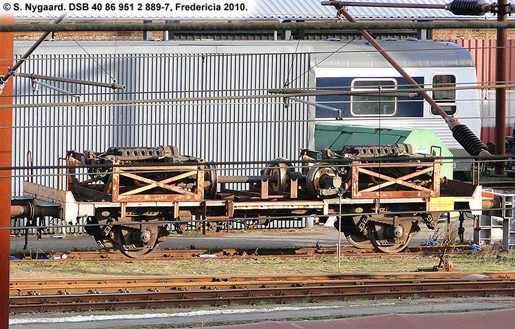 DSB tjenestevogn 40 86 951 2889-7