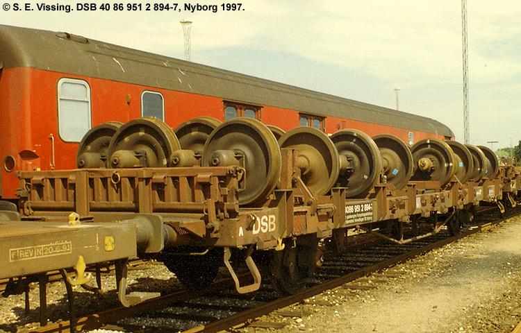 DSB tjenestevogn 40 86 951 2894 - 7