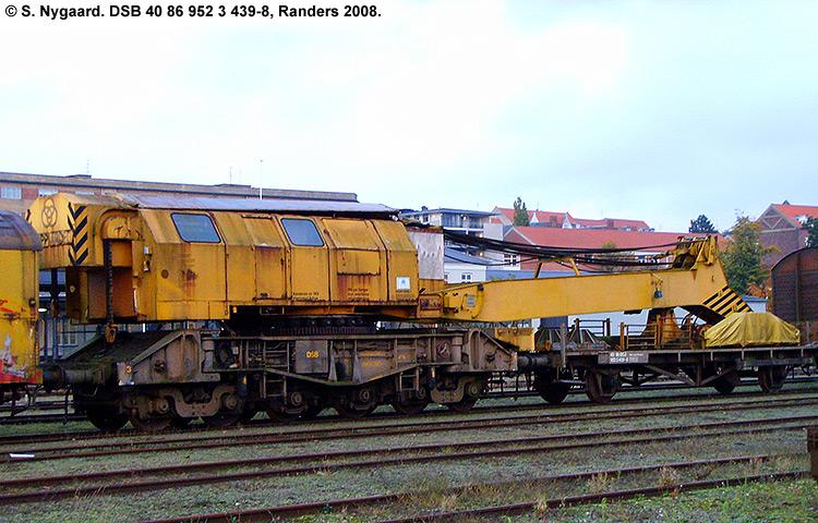 DSB tjenestevogn 40 86 952 3439-8