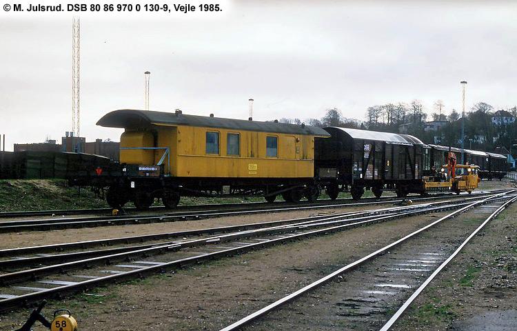 DSB tjenestevogn 80 86 970 0130 - 9