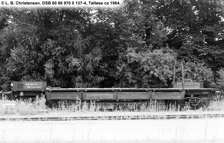DSB tjenestevogn 80 86 970 0137 - 4