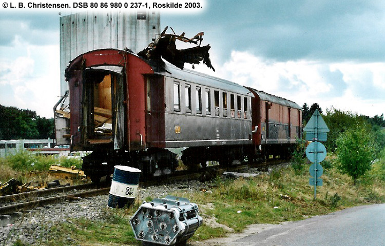 DSB tjenestevogn 80 86 980 0237 - 1