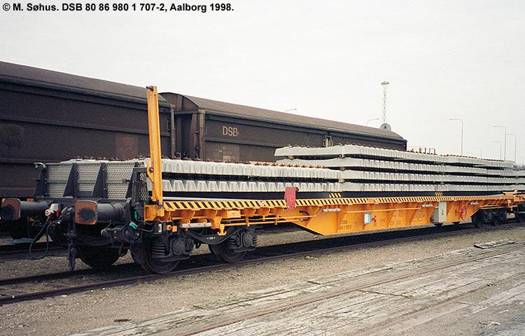 DSB tjenestevogn 80 86 980 1717 - 1