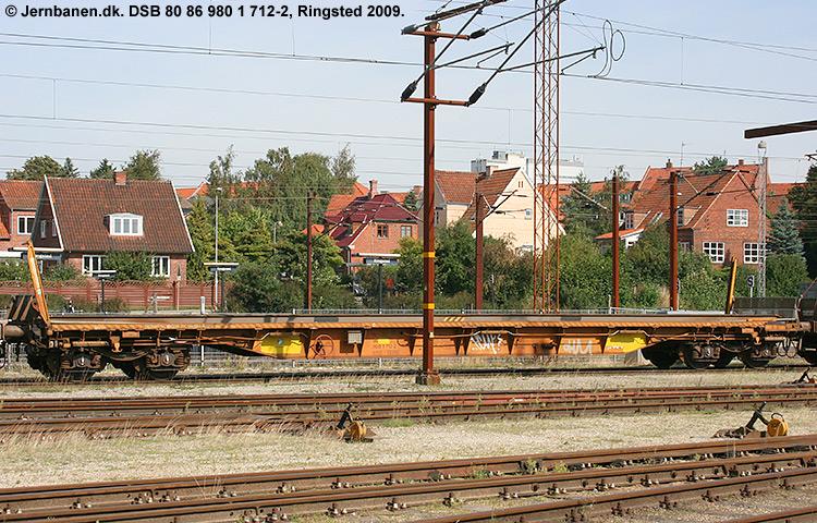 DSB tjenestevogn 80 86 980 1712-2