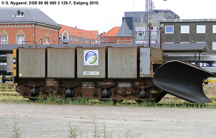DSB tjenestevogn 80 86 980 3129-7