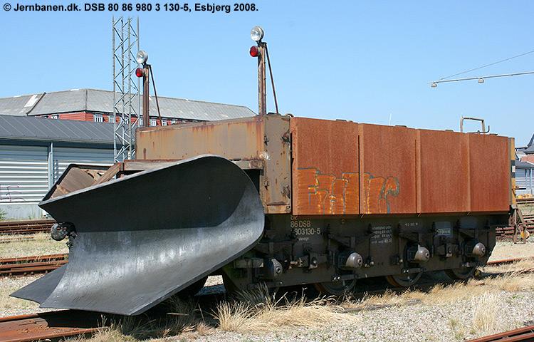 DSB tjenestevogn 80 86 980 3130-5