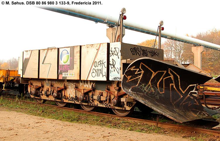DSB tjenestevogn 80 86 980 3133 - 9