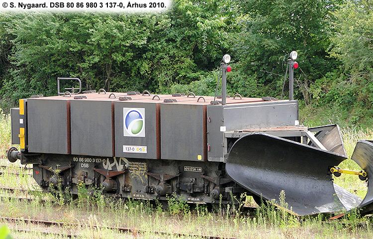 DSB Tjenestevogn 80 86 980 3137 - 0