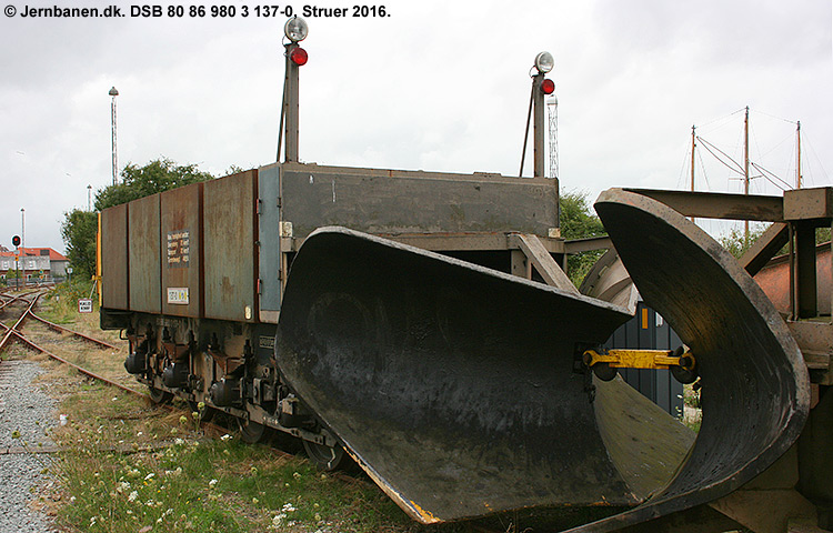DSB tjenestevogn 80 86 980 3137-0