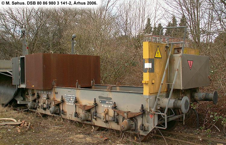 DSB tjenestevogn 80 86 980 3141 - 2