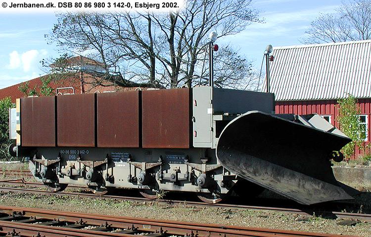 DSB tjenestevogn 80 86 980 3142-0