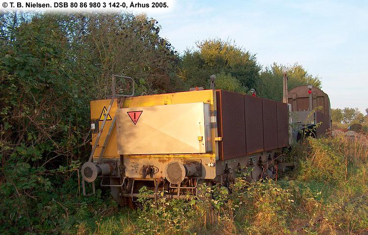 DSB tjenestevogn 80 86 980 3142 - 0