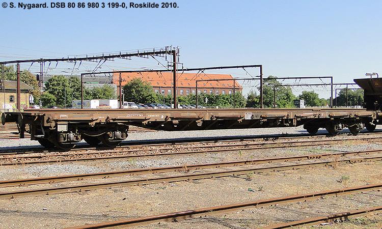 DSB tjenestevogn 80 86 980 3199 - 0