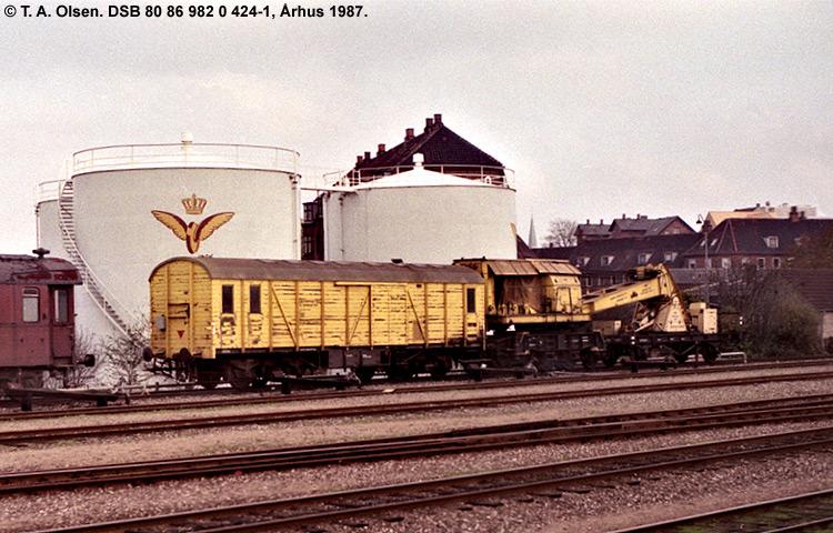 DSB tjenestevogn 80 86 982 0424-1