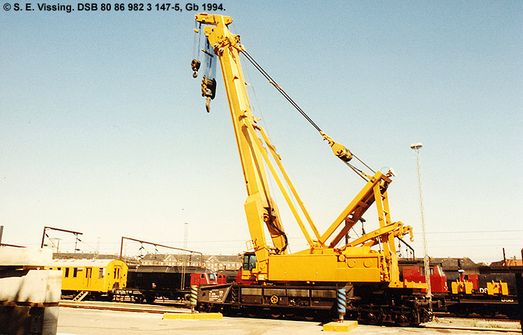 DSB tjenestevogn 80 86 982 3147 - 5
