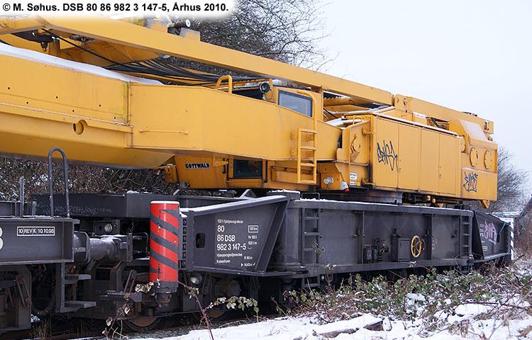 DSB tjenestevogn 80 86 982 3147-5