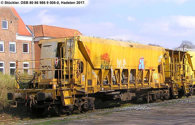DSB tjenestevogn 80 86 986 9005-0