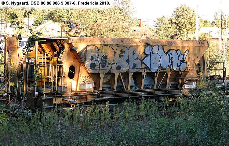 DSB tjenestevogn 80 86 986 9007 - 6