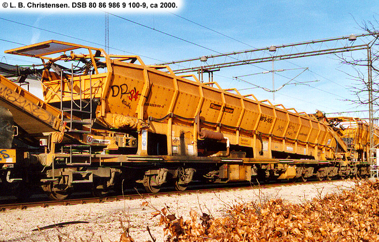DSB Tjenestevogn 80 86 986 9100 - 9
