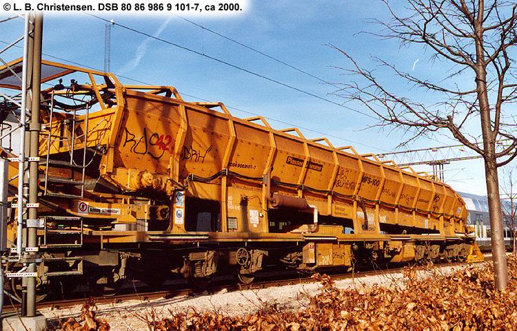 DSB tjenestevogn 80 86 986 9101-7