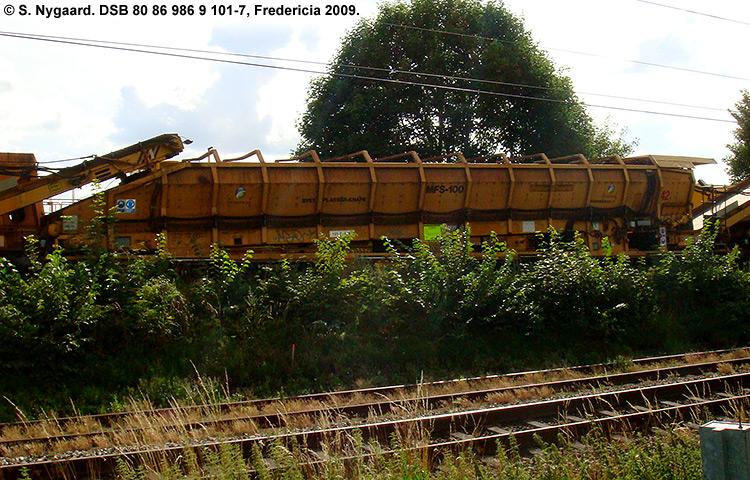 DSB tjenestevogn 80 86 986 9101 - 7