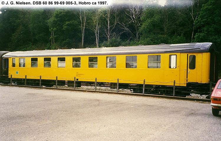 DSB Tjenestevogn 60 86 99-69005 - 3