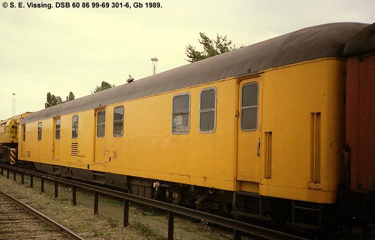 DSB tjenestevogn 60 86 99-69301 - 6