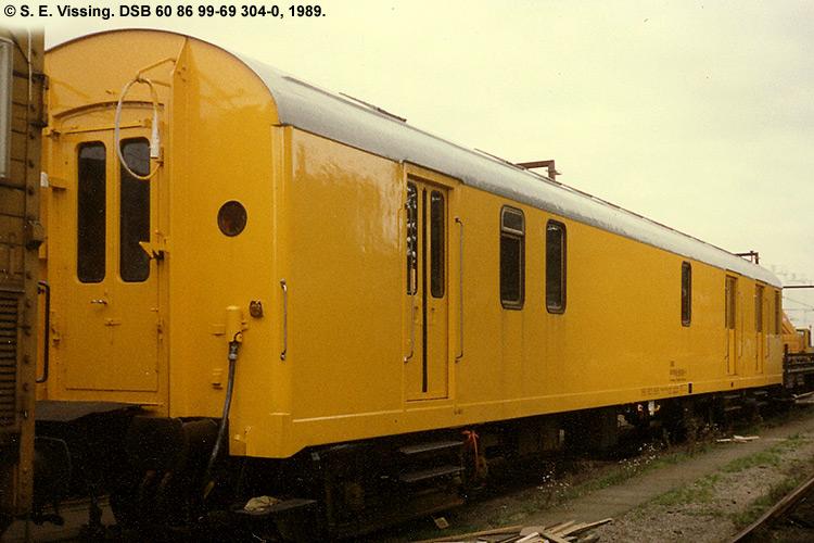 DSB tjenestevogn 60 86 99-69304 - 0