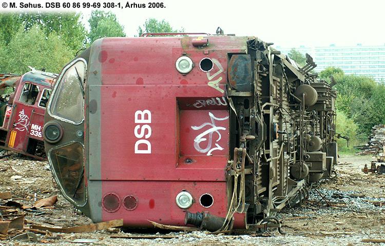 DSB tjenestevogn 60 86 99-69308 - 1